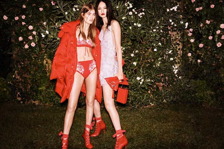 Into a flowered garden with Ermanno Scervino 5