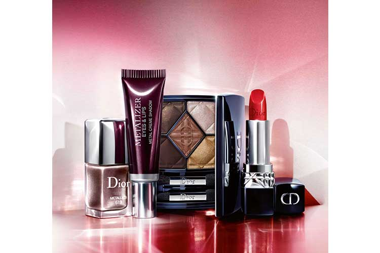 Metalizer Eyes Lips make up Dior per lautunno 23 08 17 2