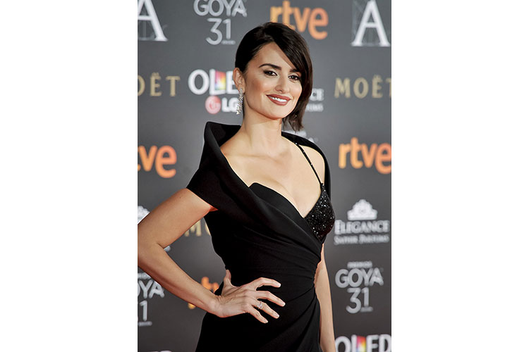 Penelope Cruz con Chopard 7feb17 2